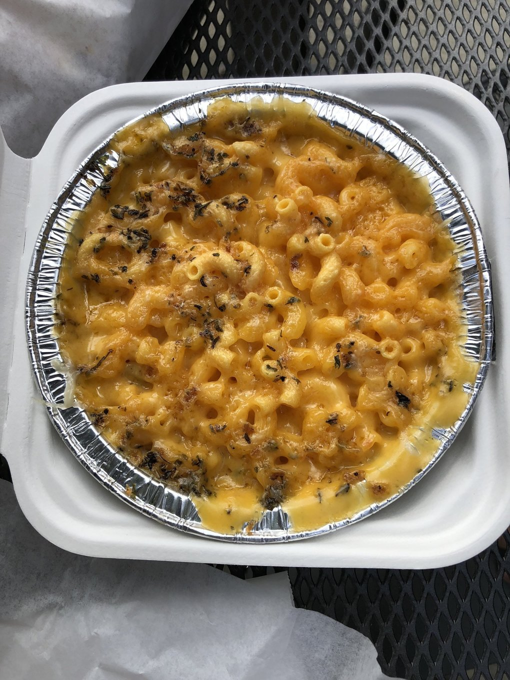 The mac and cheese at 5b's Bakery in Concrete, Washington, isn't just gluten free-good — it's good, period. (Stefanie Loh / The Seattle Times)