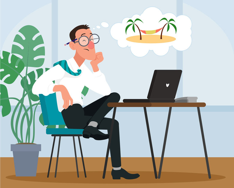 How to plan for —and combat — the work worries, low mood and piles of laundry that come after a vacation. (Getty Images)