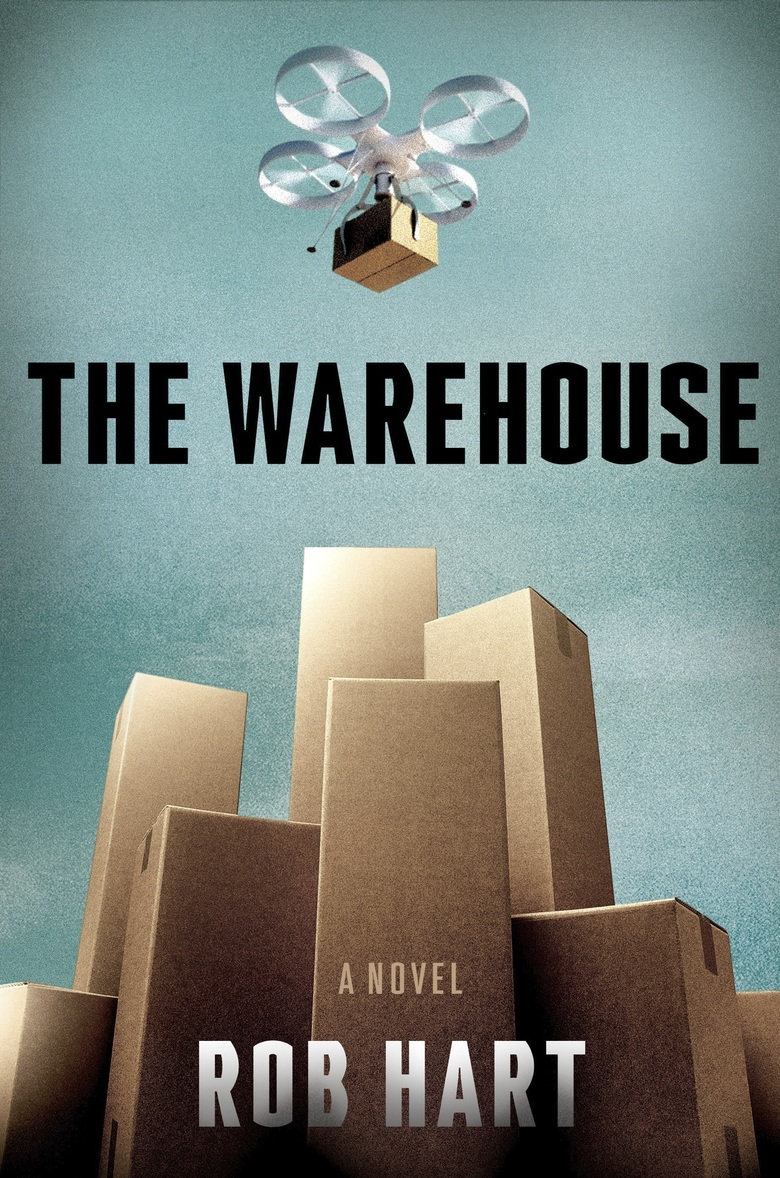 """This cover image released by Crown Publishing shows """"The Warehouse,"""" by Rob Hart. The novel was released on Aug. 20. (Crown via AP)"""