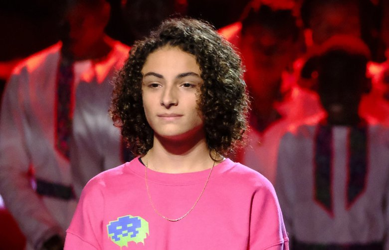 "Maple Valley teenager Benicio Bryant performed one a duet with his idol Ozuna on the Wednesday night finale of ""America's Got Talent."" Bryant did not finish in the top five, but said he took a lot from the experience. (Photo courtesy NBC) 775389808"