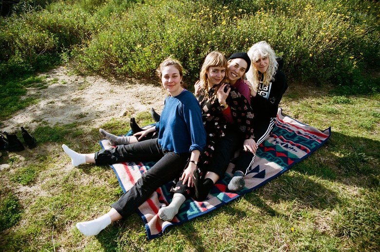 Local favorites Chastity Belt returned from a mini hiatus with their fourth album, issued through Hardly Art in September.  (Beto Barkmo)
