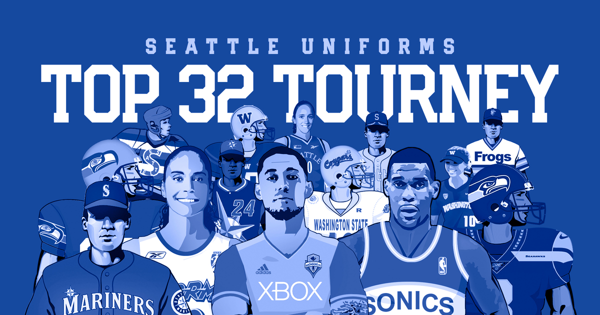 The Great Seattle Uniform Bracket: Cast your vote for your favorite jersey in Round 1
