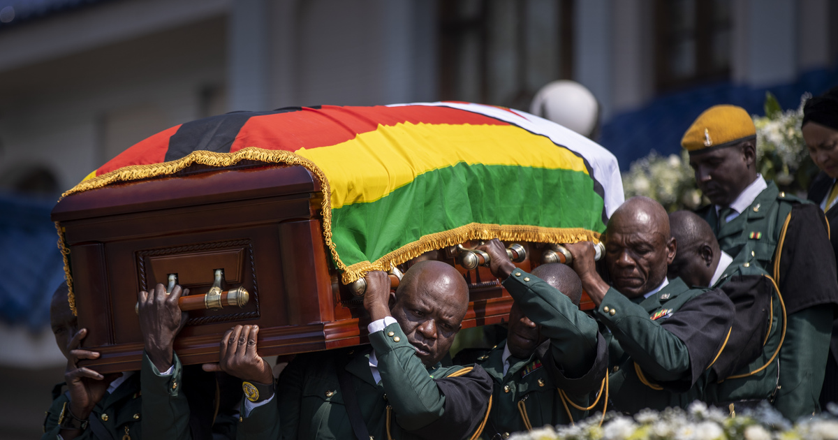Mugabe privat burial at national Heroes' Acre