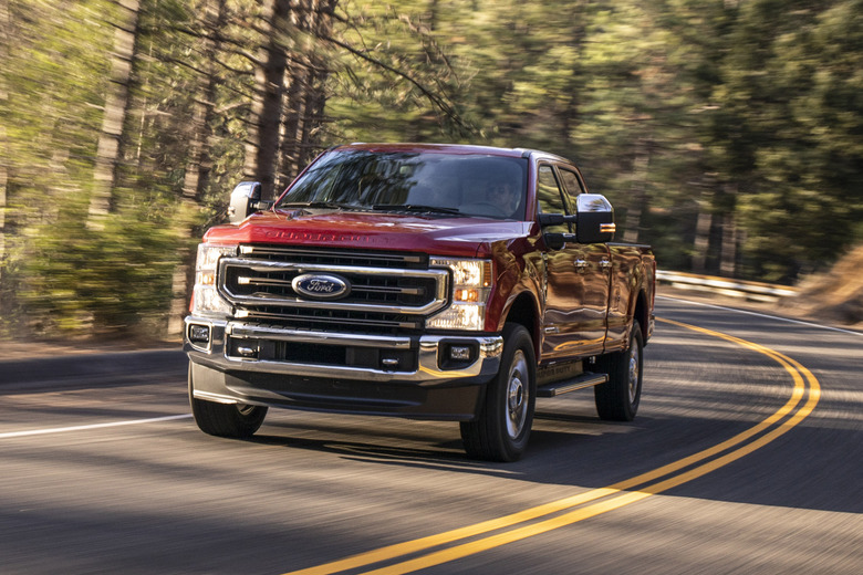 Ford F-Series Super Duty truck claims all the diesel towing titles
