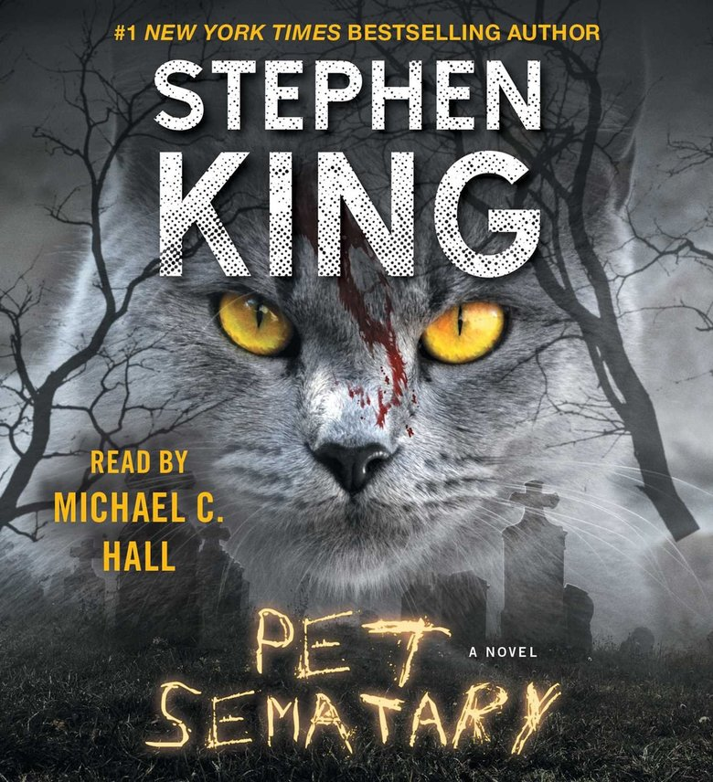"""Pet Sematary"" by Stephen King. Narrated by Michael C. Hall. (Simon & Schuster audio)"