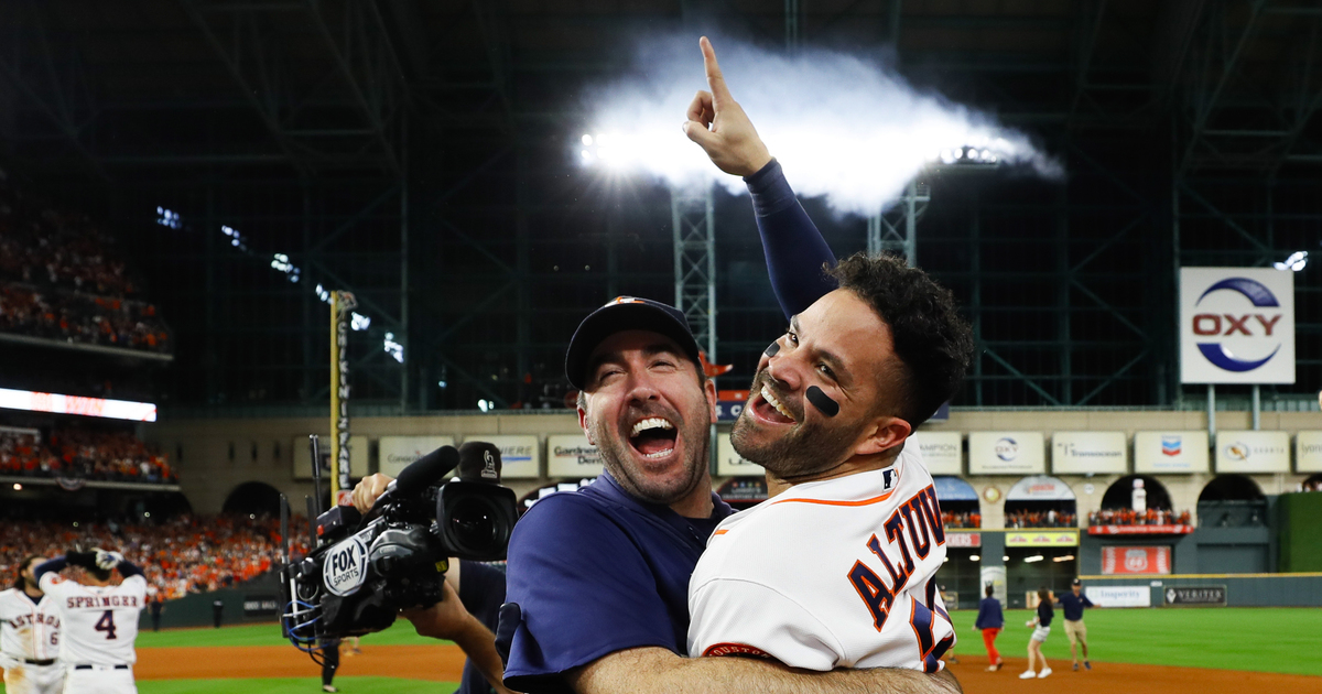 Jose Altuve's 9th-inning homer beats New York Yankees, sends Houston Astros to World Series