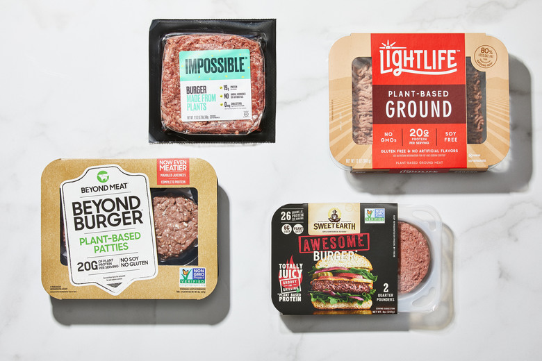 We tested cook-at-home versions to see who makes a better vegan burger. (Photo by Tom McCorkle for The Washington Post).