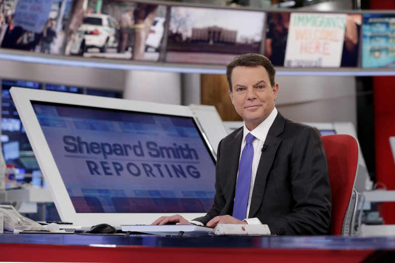"FILE – In this Jan. 30, 2017, file photo, Fox News Channel chief news anchor Shepard Smith appears on the set of ""Shepard Smith Reporting"" in New York. Smith, whose newscast on Fox News Channel seemed increasingly an outlier on a network dominated by supporters of President Trump, says he is leaving the network. He has worked at Fox News Channel since the network started in 1996. In a statement, Smith said he had asked the company to let him leave. He gave no reason for the seemingly sudden decision. (AP Photo/Richard Drew, File)"