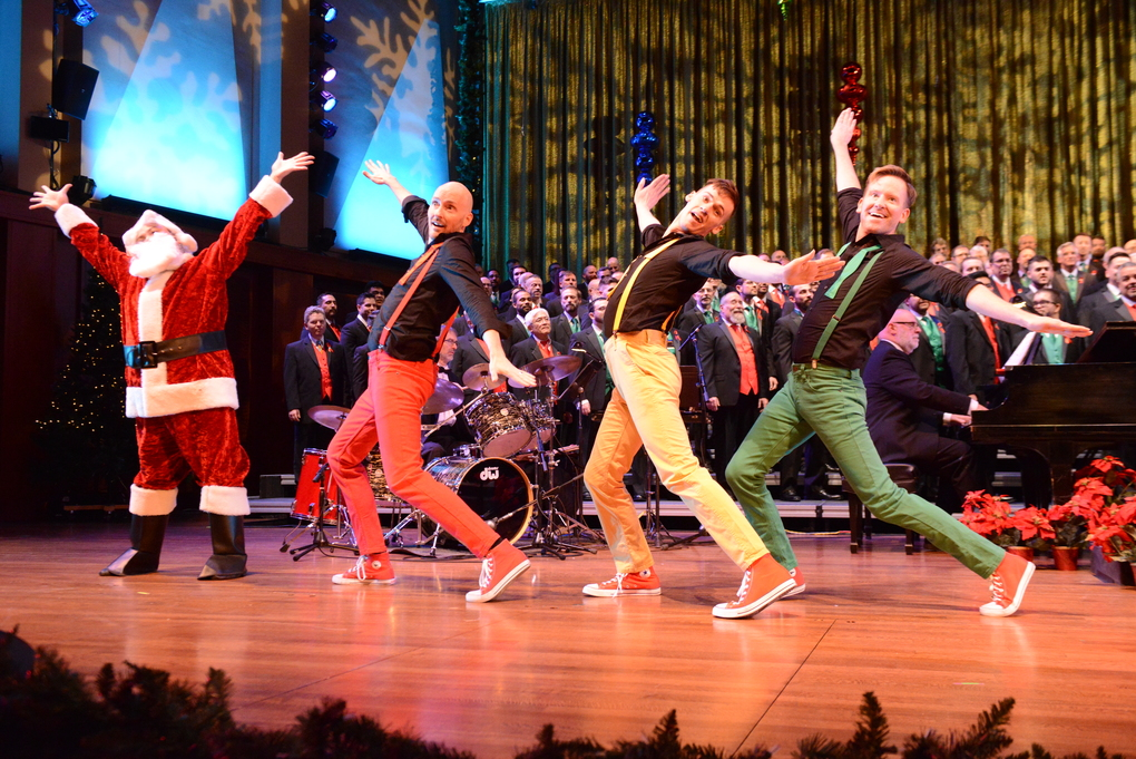 """Seattle Men's Chorus presents its holiday show, """"'Tis the Season,"""" at several venues in the region. (John Pai)"""