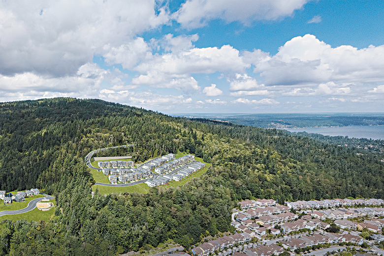 Panorama will feature 63 homes within Talus, a 630-acre master-planned community.