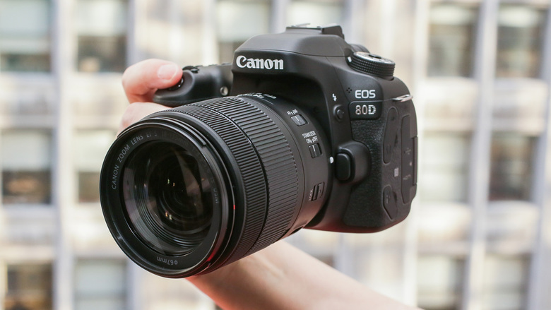 With better performance and photo quality than the 70D, the Canon EOS 80D is worth the upgrade. (Sarah Tew/CNET/TNS)