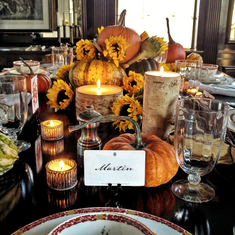 Place cards make a party more festive. (The Punctilious Mr. P's Place Card Co).