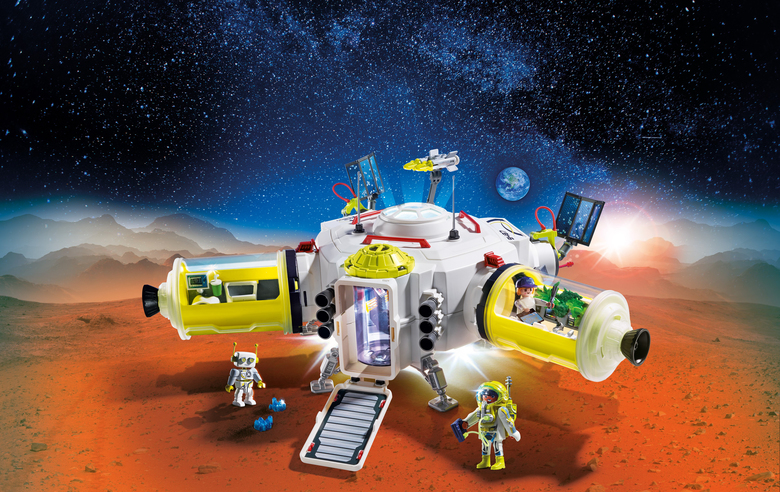 Playmobil's Mars Space Station is perfect for future space travelers. (Playmobil)