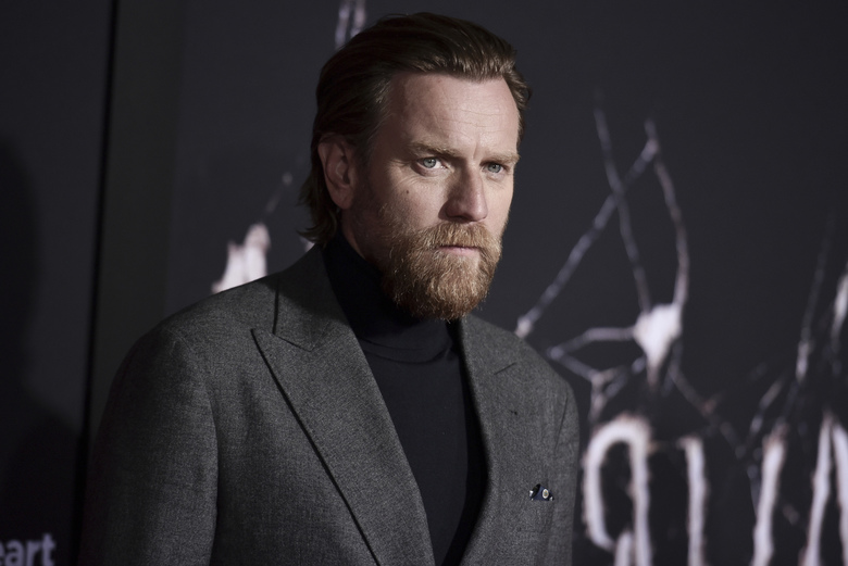 """Ewan McGregor attends the LA premiere of """"Doctor Sleep"""" at the Regency Theatre Westwood on Tuesday, Oct. 29, 2019, in Los Angeles. (Photo by Richard Shotwell/Invision/AP)"""