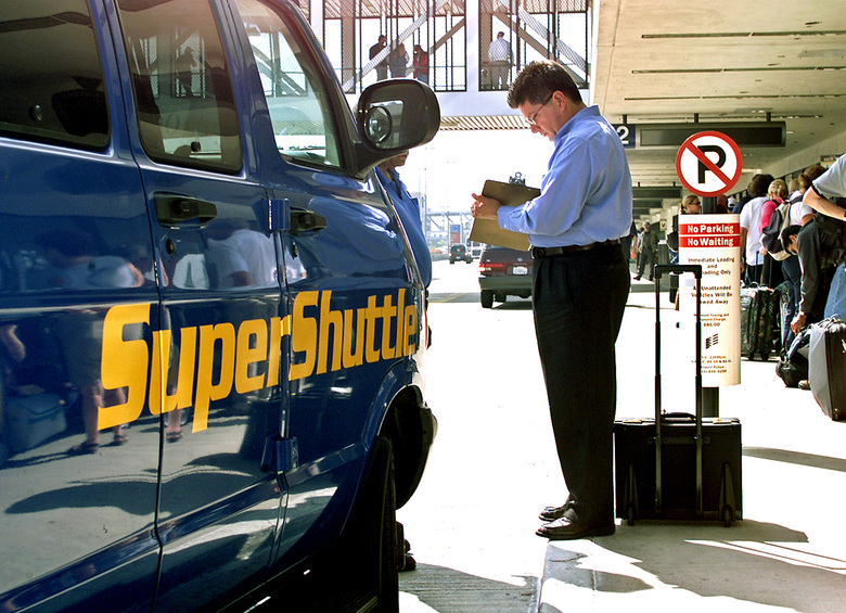 SuperShuttle has been serving passengers for nearly four decades.