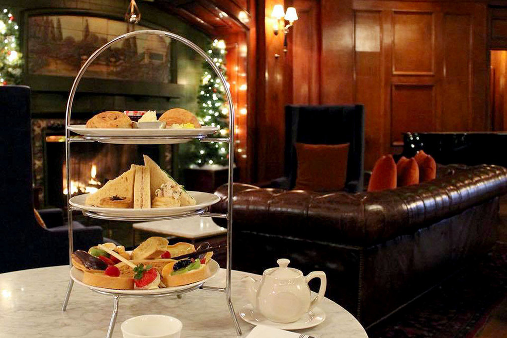 Experience holiday high tea at the Hotel Sorrento on Friday and Saturdays in December. (Courtesy of Hotel Sorrento)