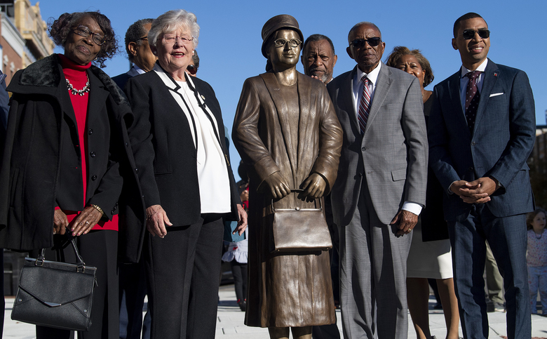 New Pioneer Travel >> Alabama unveils statue of civil rights icon Rosa Parks | The Seattle Times