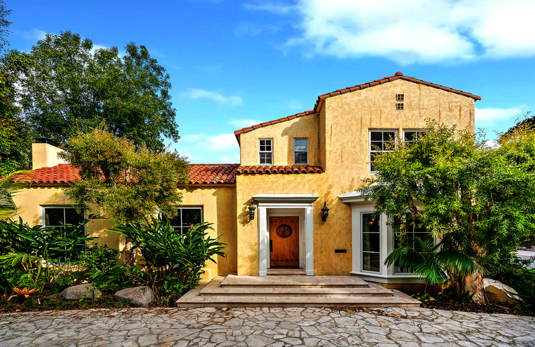 The Spanish-style home has five bedrooms and six bathrooms. (Berkshire Hathaway Homeservices via TNS)