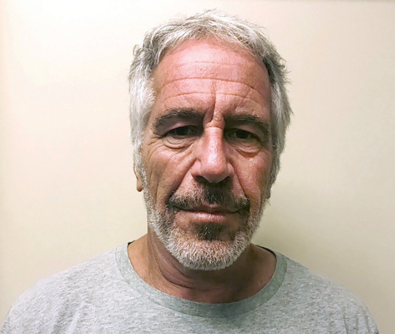 "FILE – This March 28, 2017, file photo, provided by the New York State Sex Offender Registry, shows Jeffrey Epstein. Disgraced financier Jeffrey Epstein donated more than $700,000 to the Massachusetts Institute of Technology and visited campus at least nine times after being convicted of sex crimes in 2008, according to new findings from a law firm hired to investigate Epstein's ties with the elite school. MIT President L. Rafael Reif called the findings ""a sharp reminder of human fallibility and its consequences."" (New York State Sex Offender Registry via AP, File)"