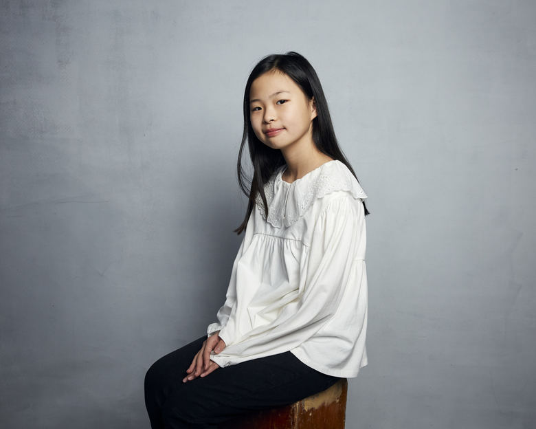 """Noel Cho poses for a portrait to promote the film """"Minari"""" at the Music Lodge during the Sundance Film Festival on Monday, Jan. 27, 2020, in Park City, Utah. (Photo by Taylor Jewell/Invision/AP)"""