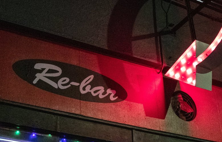 Re-bar, turns 30 this year and will celebrate with a birthday party on February 22, 2020.   Photographed on Feb. 14, 2020. 213019 (Amanda Snyder / The Seattle Times)