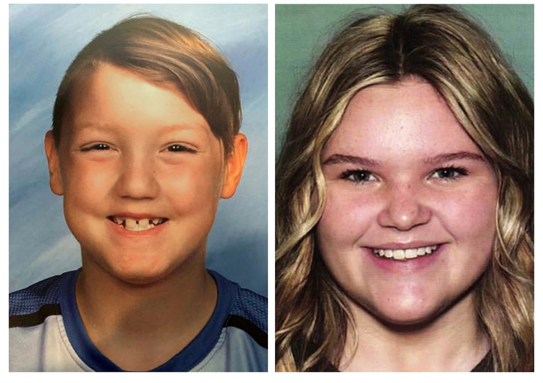 "Missing children Joshua ""JJ"" Vallow, 7, left, and Tylee Ryan, 17. Joshua Vallow and Tylee Ryan haven't been seen since late September, and police in Rexburg, Idaho have said they ""strongly believe that Joshua and Tylee's lives are in danger. Lori Vallow has recently been living in Hawaii. (National Center for Missing & Exploited Children via AP)"