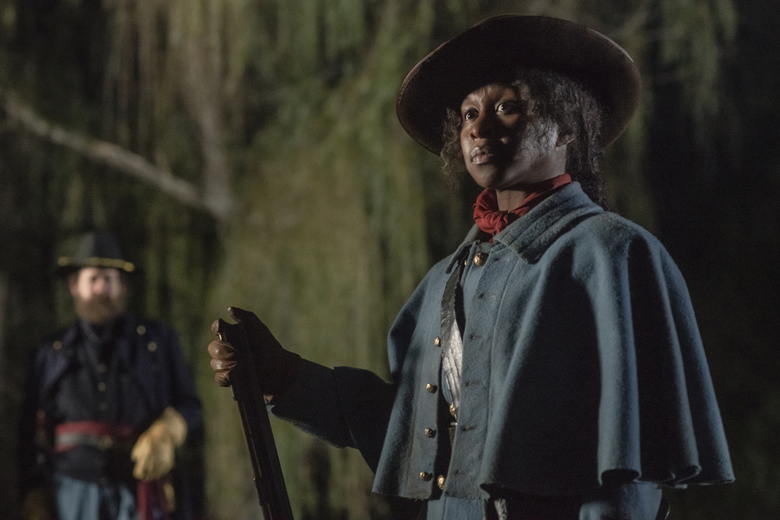 "This image released by Focus Features shows Cynthia Erivo as Harriet Tubman in a scene from ""Harriet."" According to new research released Tuesday, Feb. 4, 2020 by the University of Southern California's Annenberg Inclusion Initiative, more of 2019's top movies featured minority or female lead characters than ever recorded before. Analyzing the top 100 films at the North American box office, USC researchers found that 31 movies had leads or co-leads from an underrepresented racial group, an increase of 4 films from 2018 and nearly triple the number of ten years ago.  (Glen Wilson/Focus Features via AP)"