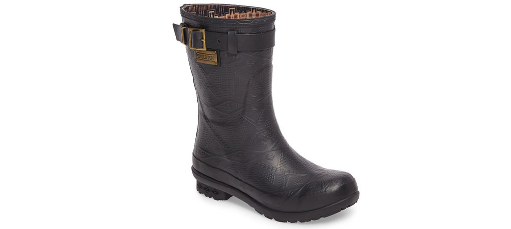 Pendleton Embossed Short Waterproof Rain Boots