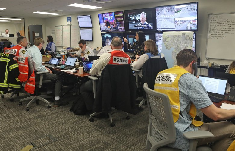 The City of Kirkland has activated their emergency operations center. Their headquarters are at Kirkland City Hall.