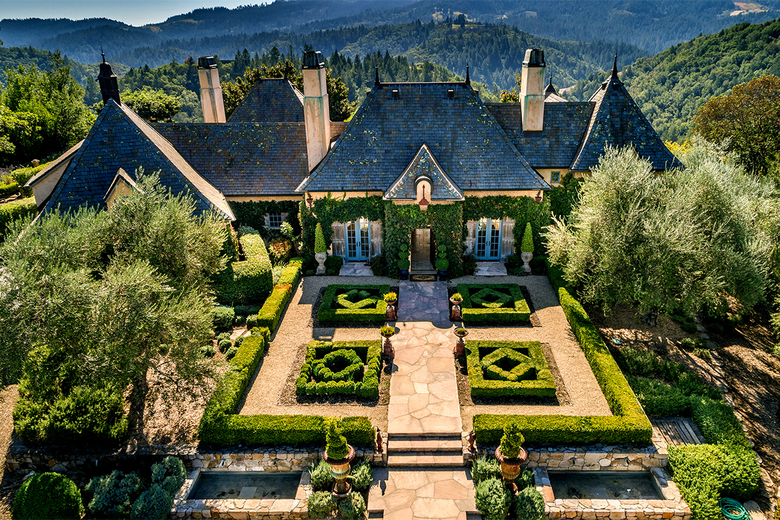 The country-style compound includes a European-style main home, a guesthouse and an olive grove. (Paul Rollins/TNS)