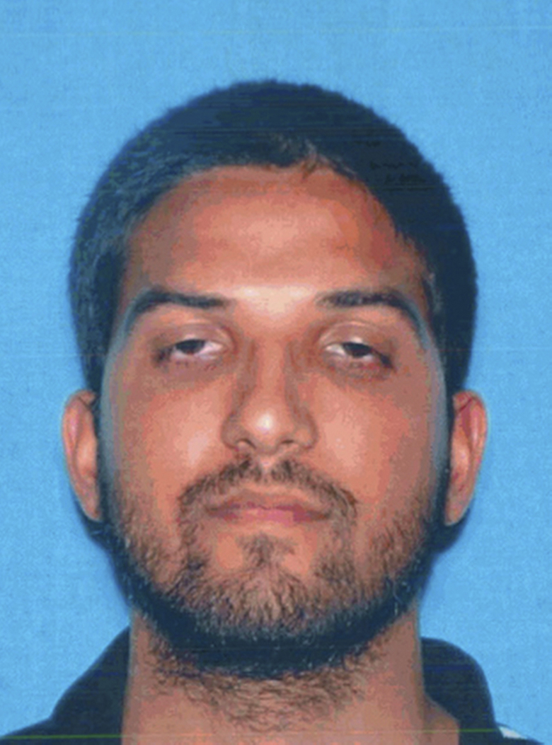 FILE – This undated file photo provided by the California Department of Motor Vehicles shows San Bernardino, Calif., shooter Syed Rizwan Farook. Rafia Sultana Shareef, a.k.a. Rafia Farook, 66, of Corona, mother of Farook the male shooter in 2015 San Bernardino terrorist attack, has agreed to plead guilty to a federal criminal charge of intending to impede a federal criminal investigation by shredding a map her son generated in connection with the attack. Rafia Farook has agreed to plead guilty to a one-count information charging her with alteration, destruction, and mutilation of records. (California Department of Motor Vehicles via AP, File)