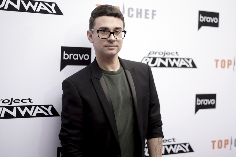 "FILE – In this April 16, 2019 file photo, Christian Siriano attends Top Chef and Project Runway 'A Night of Food and Fashion' at Vibiana in Los Angeles.   Siriano in a tweet vowed to make masks, asking his sewing team to pump them out to help medical responders. The tweet got Gov. Andrew Cuomo's attention, who thanked the ""Project Runway"" star and got in touch with his team.(Photo by Richard Shotwell/Invision/AP, File)"