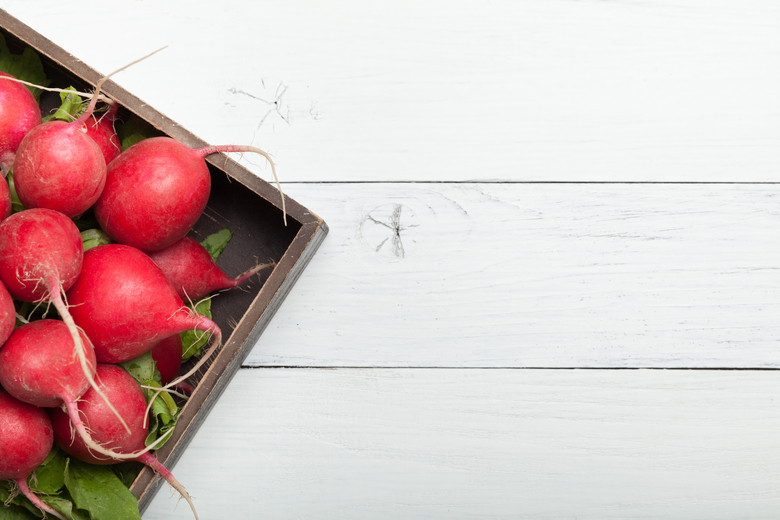 Radishes are overlooked, but they have many uses, fresh or cooked. And spring is prime time for radishes in the Northwest. (Dreamstime)