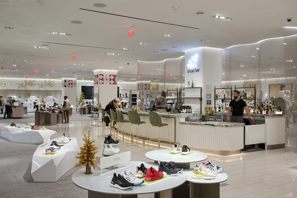 Nordstrom's new store in Manhattan in 2019. The coronavirus has hit the behemoths of the retail world hard; Nordstrom has canceled orders and put off paying its vendors. (Karsten Moran / The New York Times)