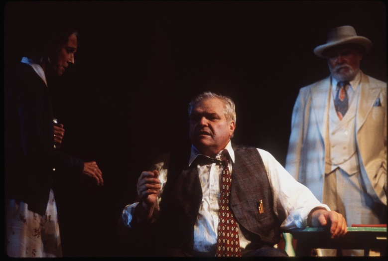 Brian Denehy as Willy Loman, in  'Death of a Salesman', on Broadway.  The burly actor, who started in films as a macho heavy and later in his career won plaudits for his stage work in plays by William Shakespeare, Anton Chekhov, Eugene O'Neill and Arthur Miller, died Wednesday, April 15, of natural causes in New Haven, Connecticut. He was 81.
