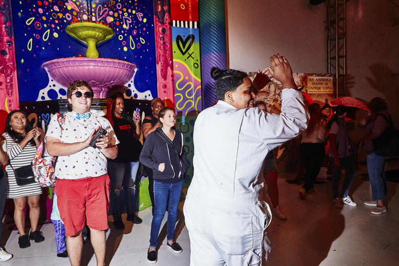 Candytopia, an interactive event, in New York in 2018.  (Amy Lombard/The New York Times)