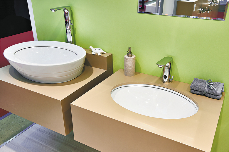 If one person in a home is in a wheelchair and another isn't, you can have sinks at varying heights to serve their different needs. (Getty Images)