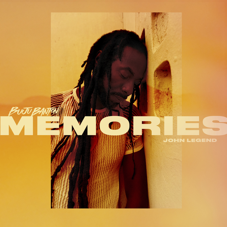 """This image released by Roc Nation/Island Records shows cover art for the single """"Memories"""" by Buju Banton featuring John Legend. (Roc Nation/Island Records via AP)"""
