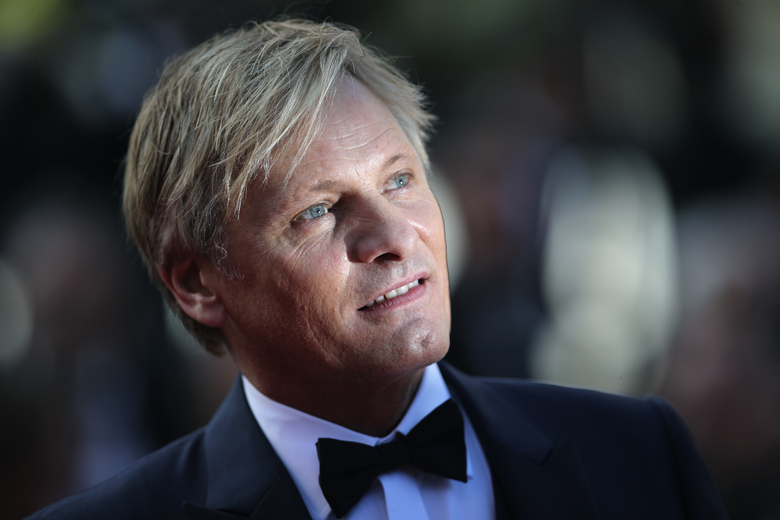 "FILE  – In this Saturday, May 25, 2019 file photo, actor Viggo Mortensen poses for photographers upon arrival at the awards ceremony of the 72nd international film festival, Cannes, southern France. he career of Viggo Mortensen, Aragorn in the popular trilogy ""Lord of the Rings"" and a protagonist in the acclaimed Academy-award winner ""Green Book,"" will be honoured at this year's San Sebastian Film Festival. Mortensen will be also holding the European premiere of ""Falling,"" his directorial debut, at the prestigious festival in northern Spain betwen Sept. 18-26.  (AP Photo/Petros Giannakouris, File)"
