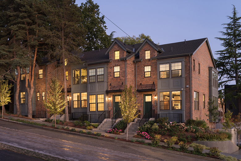Several of the remaining townhomes are available for move-in as soon as this October.