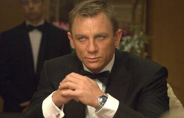 "Daniel Craig in his first turn as 007: the 2006 film ""Casino Royale."""