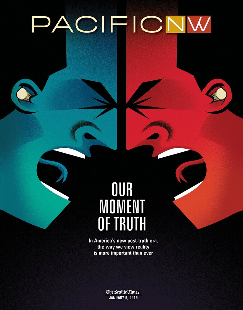 After 40 years, Pacific NW is still striving to reflect the people of the Northwest and the issues that matter to them. In recent years, the magazine has examined topics of race, homelessness, the political divide and truth itself.