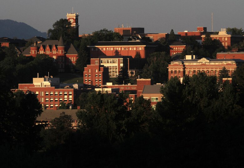 Whitman County Public Health announced 30 new COVID-19 cases on Saturday. Many were traced back to gatherings around Washington State University's Greek Row, said a spokesperson for the Pullman university. (Alan Berner / The Seattle Times, 2011)