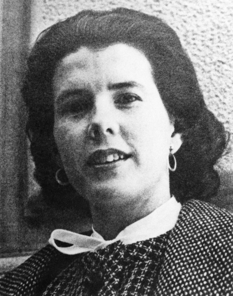 """FILE  – In this May 3, 1965, file photo, Shirley Ann Grau was named a winner of a 1965 Pulitzer Prize, honored for her book, """"The Keepers of the House,"""" in the category of fiction in New York. Grau, a Pulitzer Prize-winning fiction writer whose stories and novels told of both the dark secrets and the beauty of the Deep South, has died at age 91. Her daughter Nora McAlister said Wednesday, Aug. 5, 2020, that Grau died Monday in a memory care facility of complications from a stroke. (AP Photo, File)"""