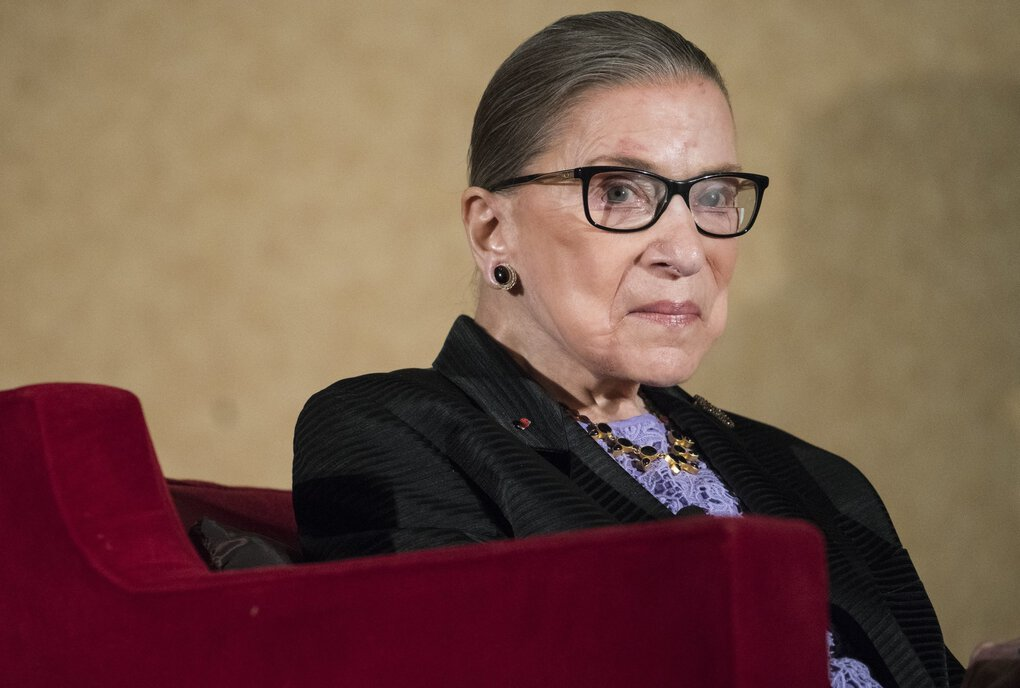 In this Aug. 19, 2016 file photo, Supreme Court Justice Ruth Bader Ginsburg speaks in Pojoaque, New Mexico. (Craig Fritz / The Associated Press)