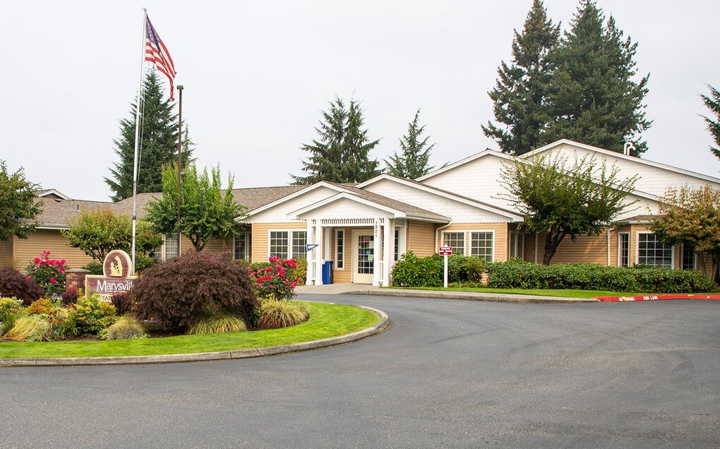Last year, Life Care Centers of America  ordered staffing cuts at Marysville Care Center. Afterward, the state started hearing complaints about conditions in its congnitive care unit. The center has received the most citations in the state for staffing deficiencies. (Mike Siegel / The Seattle Times)
