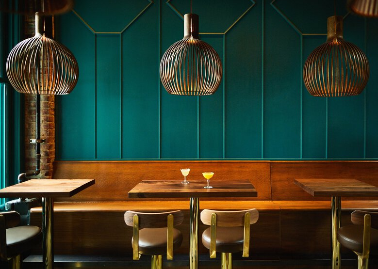 Seattle's Rupee Bar received the 2020 James Beard Foundation Award for Restaurant Design in the small-size division, for places under 75 seats (Noah Forbes)