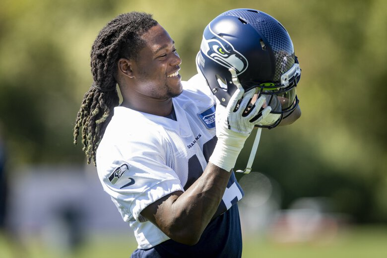 Seahawks linebacker Shaquem Griffin earned more playing time. (Bettina Hansen / The Seattle Times)
