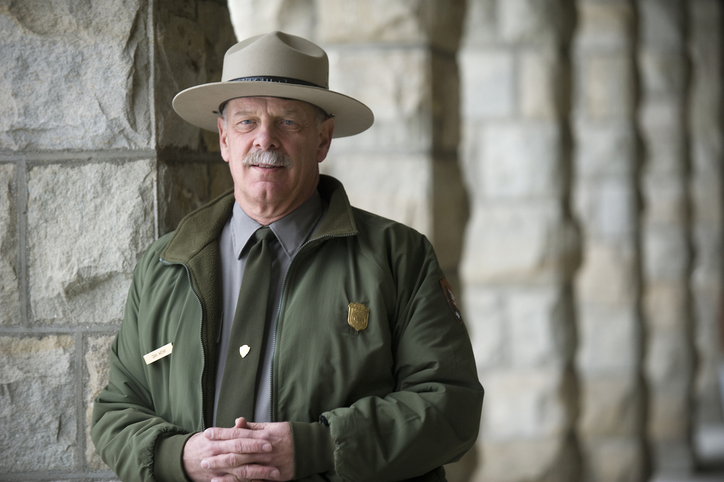 Then-Yellowstone National Park Superintendent Dan Wenk in 2013. (Photo for The Washington Post by Erik Petersen)