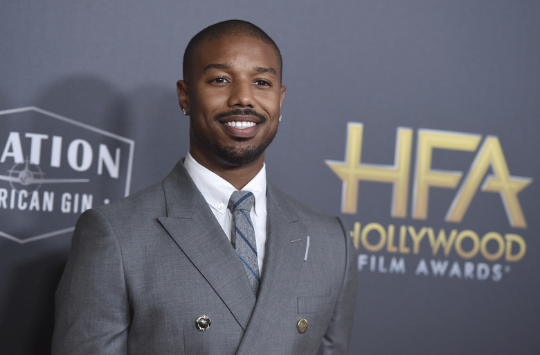 "FILE – Michael B. Jordan arrives at the Hollywood Film Awards on Nov. 4, 2018, in Beverly Hills, Calif. Jordan has been crowned as 2020's Sexiest Man Alive by People magazine. Known for his critically-acclaimed performances in ""Fruitvale Station,"" ""Creed"" and ""Black Panther,"" he was revealed as this year's winner Tuesday, Nov. 17, 2020, on ABC's ""Jimmy Kimmel Live!"" (Photo by Jordan Strauss/Invision/AP, File)"